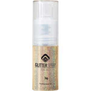 Glitter Spray Hologram Gold 24 gr.