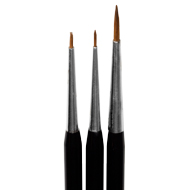 The NEW 3 pc.Flower Brush Set