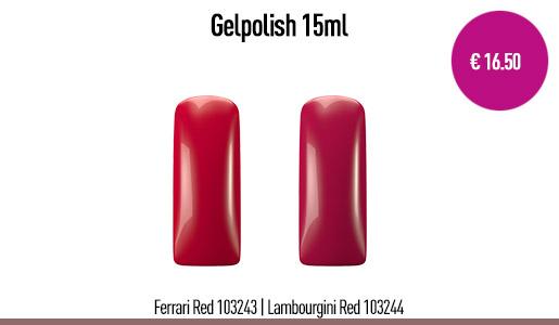 Gelpolish Ferrari Red 15 ml