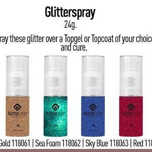 Glitter Spray Rose Gold 24 g
