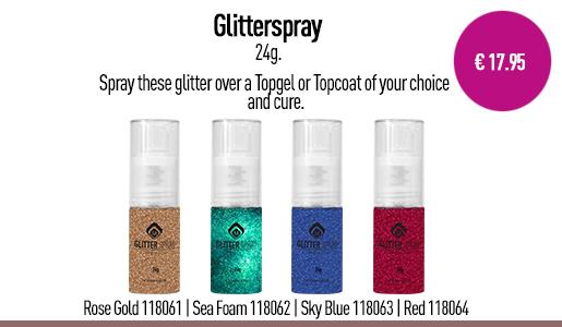 Glitter Spray Rose Gold 24 g