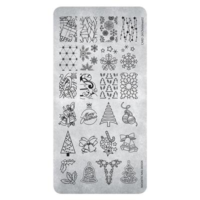 Stamping Plate 26 Christmas 2